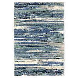Stillwater 7'10 x 9'10 Area Rug in Aqua/Multi