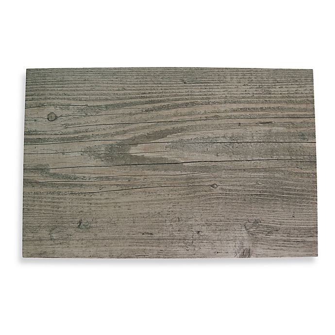 Alternate image 1 for Birch Faux Wood Hard Placemat