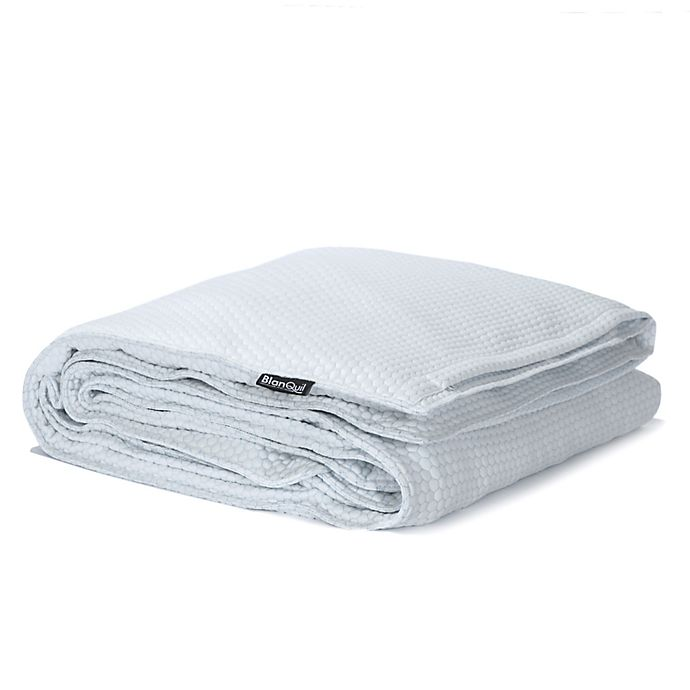 Blanquil Chill Cooling Weighted Blanket In White Bed Bath Beyond