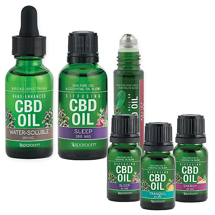 SpaRoom® CBD Essential Oil Collection | Bed Bath & Beyond