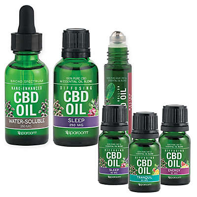 SpaRoom® CBD Essential Oil Collection