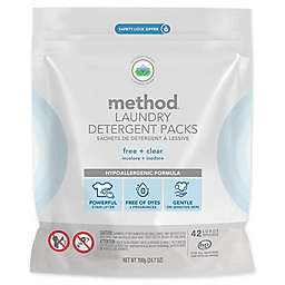 Method® 42-Count Laundry Detergent Packs in Free & Clear