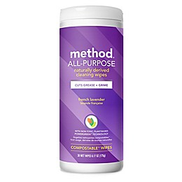 method 30-Count French Lavender Cleaning Wipes