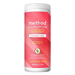 method 30-Count Pink Grapefruit Cleaning Wipes