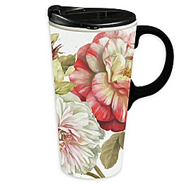 Evergreen Romantic Afternoon Ceramic Travel Cup