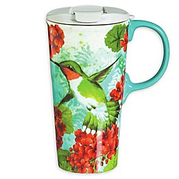 Evergreen Trio Birds Ceramic Perfect Cup