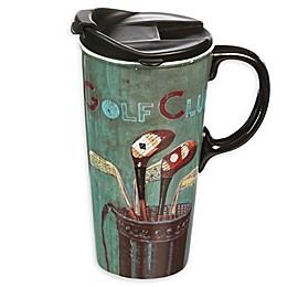 Evergreen Golf Club Ceramic Travel Cup
