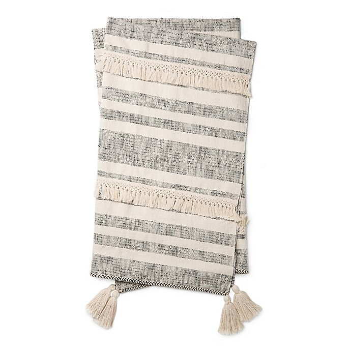 Alternate image 1 for Magnolia Home By Joanna Gaines Lucy Reversible Throw Blanket