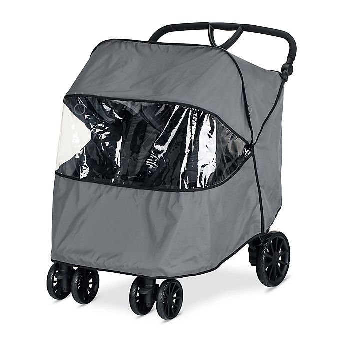 Alternate image 1 for BRITAX® B-Lively Double Rain Cover in Grey