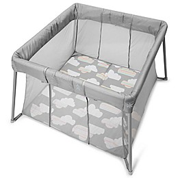 Skip*Hop® Play to Night Expanding Playard & Travel Crib in Grey