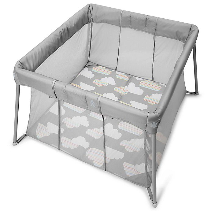 Alternate image 1 for Skip*Hop® Play to Night Expanding Playard & Travel Crib in Grey