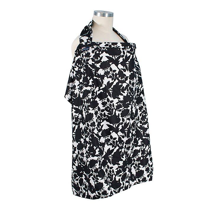 Alternate image 1 for Bebe au Lait® Sakura Nursing Cover in Black