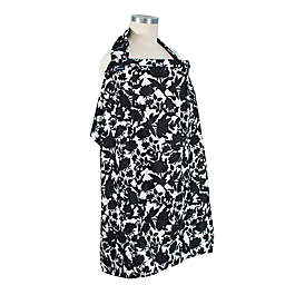 Bebe au Lait® Sakura Nursing Cover in Black