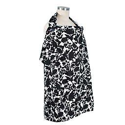 Bebe au Lait® Sakura Nursing Cover in Black