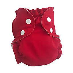 AppleCheeks Size 1 Red Whine Reusable Swim Diaper