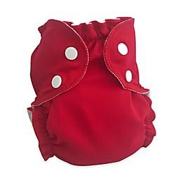 AppleCheeks Size 1 Red Whine Swim Diaper