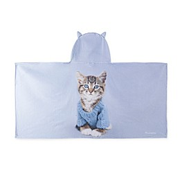 Rachael Hale® Stevie Hooded Towel in Blue