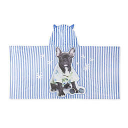Rachael Hale® Billie Star Hooded Towel in Blue