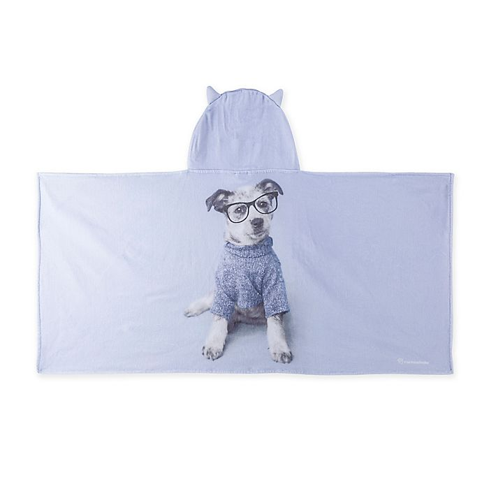 Alternate image 1 for Rachael Hale® Jake Hooded Towel in Lavender