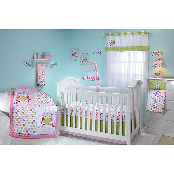 Taggies Owl Crib Bedding Collection