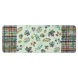"Bacova Leaf Jewels 18"" x 55"" Memory Foam Kitchen Mat"