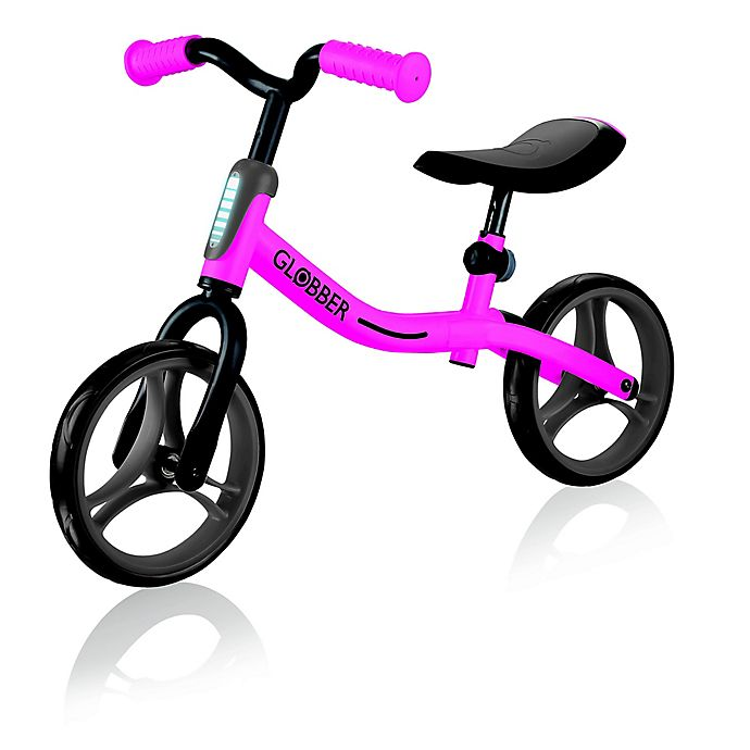 Alternate image 1 for Globber Scooters Go Bike Balance Bike in Pink