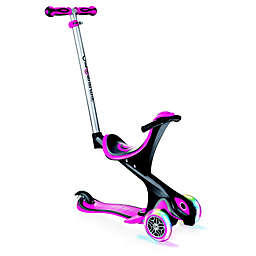 Globber Scooters® EVO Comfort Convertible Scooter in Pink
