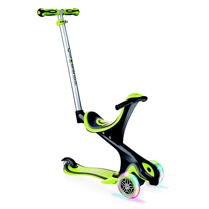 Alternate image 1 for Globber Scooters® EVO Comfort Convertible Scooter in Lime Green