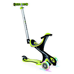 Globber Scooters® EVO Comfort Convertible Scooter in Lime Green