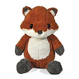 cloud b® Frankie The Fox Soother Plush Toy in Dark Orange