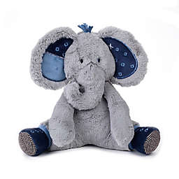 Lambs & Ivy® Indigo Elephant Patches Plush Toy in Blue/Grey