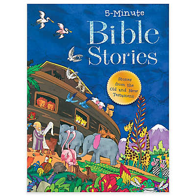 """5-Minute Bible Stories"" by Good Books"