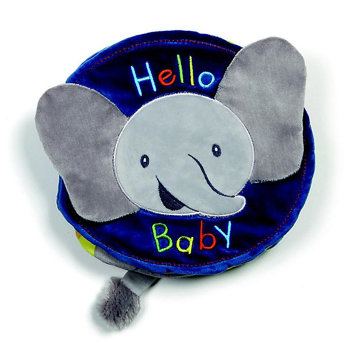 Alternate image 1 for GUND® Flappy the Elephant Soft Book