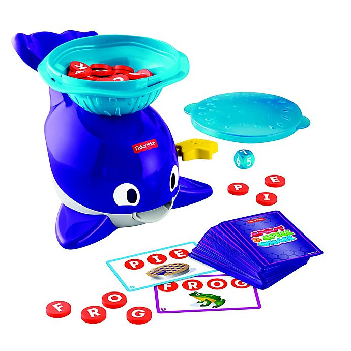 Alternate image 1 for Fisher-Price® Spout & Spell Whale™ Tabletop Game