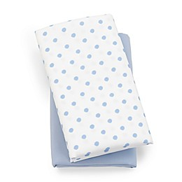 Chicco® Lullaby Playard Polyester 2-Pack Fitted Sheet Set