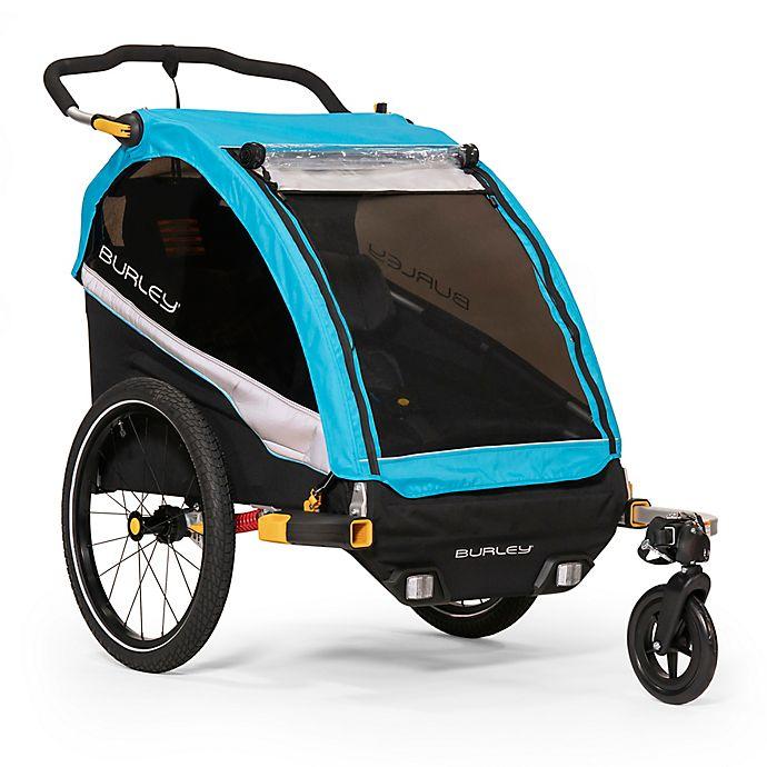 Alternate image 1 for Burley® D'Lite™ X Bike Trailer in Blue