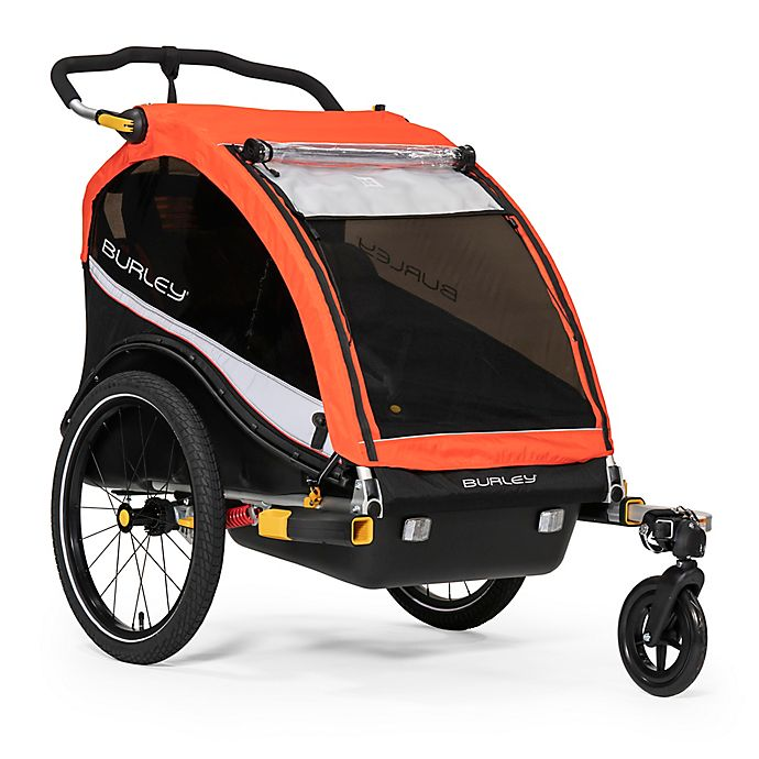 Alternate image 1 for Burley® Cub® X Bike Trailer in Red