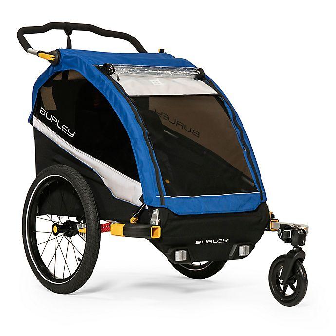 Alternate image 1 for Burley® D'Lite™ Bike Trailer in Blue