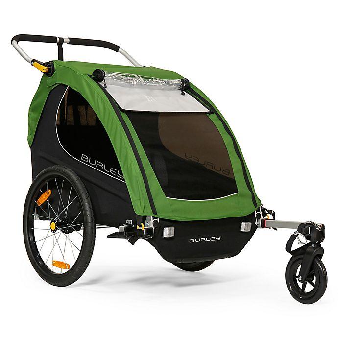 Alternate image 1 for Burley® Encore® Bike Trailer in Green