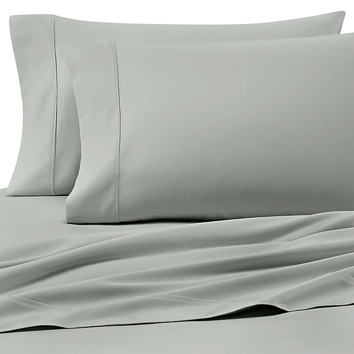 Alternate image 1 for Heartland® HomeGrown™ 400-Thread-Count Solid Sateen Pillowcases (Set of 2)