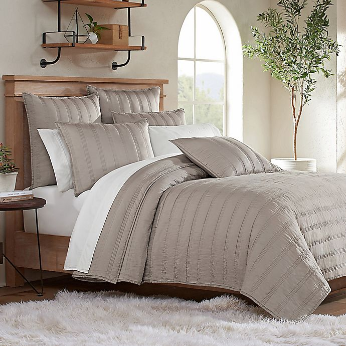 Alternate image 1 for UGG® Surfwashed Full/Queen Quilt in Oyster