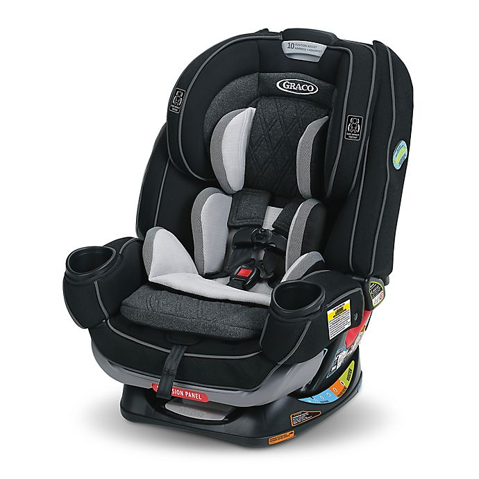 Graco 4ever Extend2fit Platinum 4 In 1 Convertible Car Seat Shale