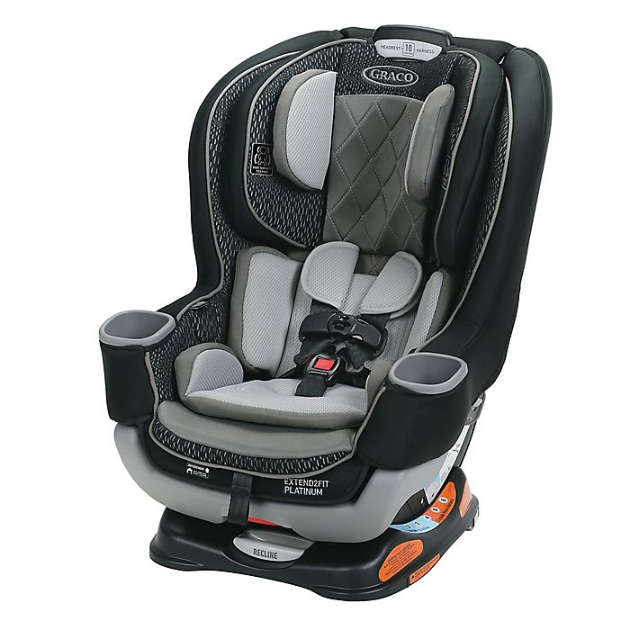 Alternate image 1 for Graco® Extend2Fit® Platinum Convertible Car Seat in Hurley