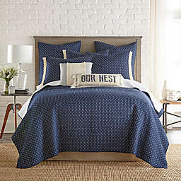 Bee & Willow™ Home Holden Reversible Twin Quilt in Navy