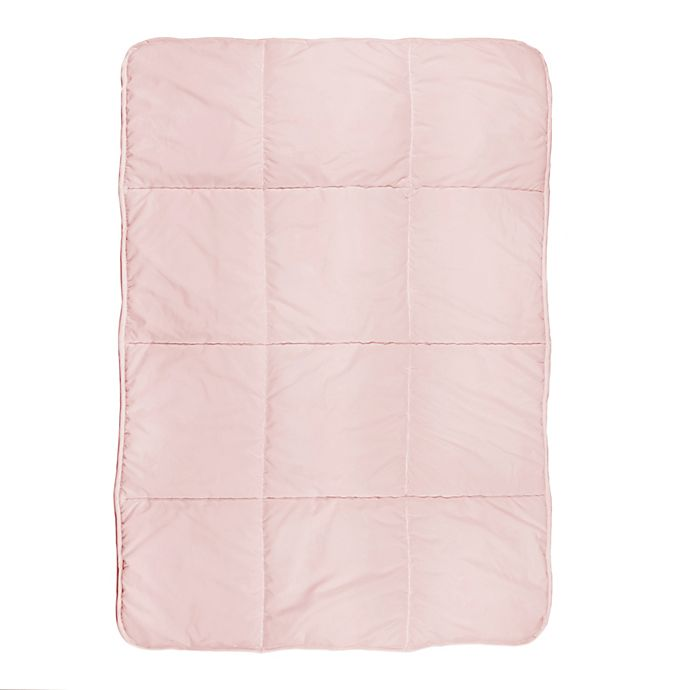 Alternate image 1 for Tadpoles™ Quilted Twin Comforter in Pink