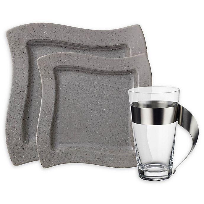 Villeroy & Boch New Wave Grey Dinnerware Collection