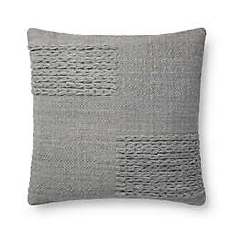 Magnolia Home By Joanna Gaines Amelie Textured Square Throw Pillow