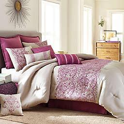 Nanshing Martine Comforter Set in Purple