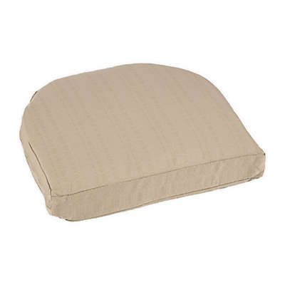 Medford Solid Outdoor Wicker Stack Chair Cushion
