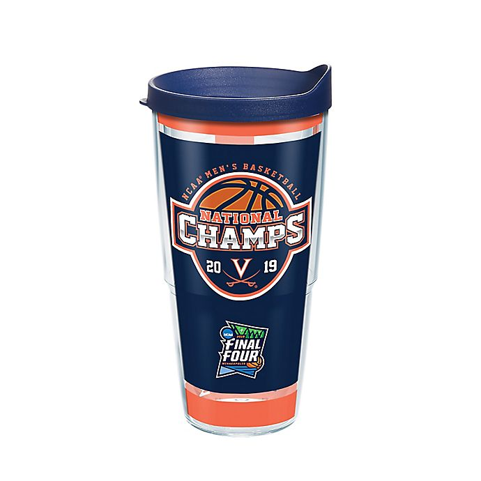 Alternate image 1 for Tervis® University of Virginia Cavaliers 2019 NCAA Champions Wrap Tumbler with Lid